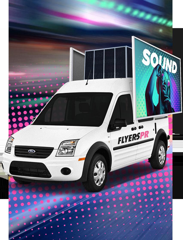 Guaguas de Sonido Promociones Flyers PR